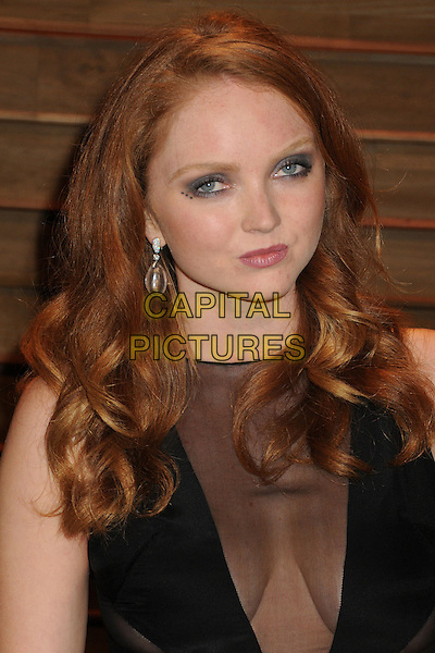 02 March 2014 - West Hollywood, California - Lily Cole. 2014 Vanity Fair Oscar Party following the 86th Academy Awards held at Sunset Plaza. <br /> CAP/ADM/BP<br /> &copy;Byron Purvis/AdMedia/Capital Pictures
