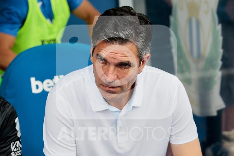 CD Leganes's coach Mauricio Pellegrino during La Liga match between CD Leganes and Atletico de Madrid at Butarque Stadium in Madrid, Spain. August 25, 2019. (ALTERPHOTOS/A. Perez Meca)
