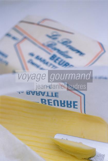 Europe/France/Bretagne/35/Ille-et-Vilaine/Saint- Malo: Beurre de baratte demi-sel chez Jean-Yves Bordier