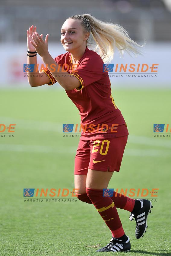 Giada Greggi of AS Roma  <br /> Roma 8/9/2019 Stadio Tre Fontane <br /> Luisa Petrucci Trophy 2019<br /> AS Roma - Paris Saint Germain<br /> Photo Andrea Staccioli / Insidefoto