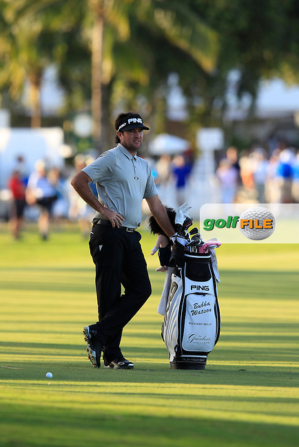 Bubba Watson (USA) during the 2nd round at the WGC Cadillac Championship, Blue Monster, Trump National Doral, Doral, Florida, USA<br /> Picture: Fran Caffrey / Golffile