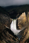 Lower Falls on the Yellowstone River in Yellowstone National Park, Wyoming.