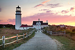 Highland Light in Truro, Cape Cod National Seashore, MA, USA