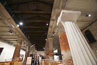 """13th Biennale of Architecture..Arsenale..Hans Kollhoff, """"Tektonik - Morphologie städtischer Fassaden"""""""