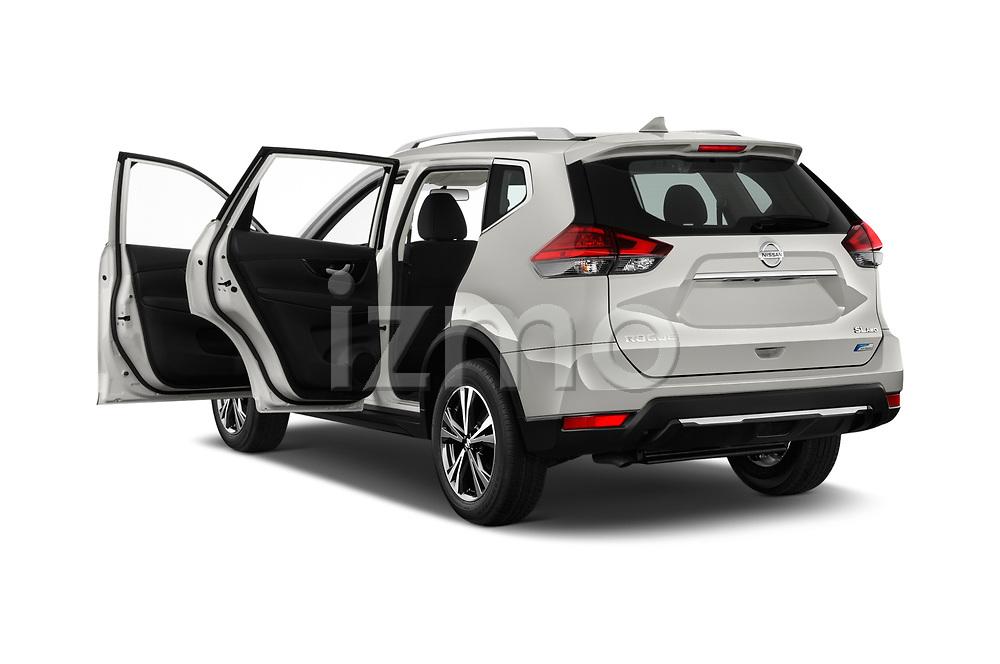 Car images of 2017 Nissan Rogue SL-Hybrid 5 Door SUV Doors