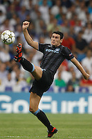 17.09.2012 SPAIN -  Champions League 12/13 Matchday 1th  match played between Real Madrid CF vs  Manchester City at Santiago Bernabeu stadium. The picture show Gareth Barry (Midfielders of Manchester City)