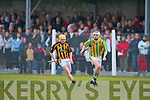 Abbeydorney's Danny McDonagh and Kilmoyley's Conor Fitzell.   Copyright Kerry's Eye 2008