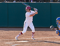 Stanford, California - May 3, 2019: Stanford Softball defeats UCLA 2-1 at Boyd & Jill Smith Family Stadium in Stanford, California.
