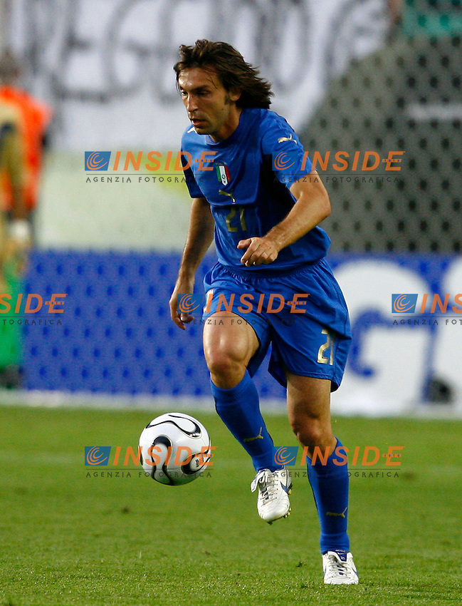 Kaiserslautern 17/6/2006 World Cup 2006.Italia USA.Photo Andrea Staccioli Insidefoto.Andrea Pirlo Italia