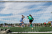 Boston, MA - Saturday June 24, 2017: Brooke Elby during a regular season National Women's Soccer League (NWSL) match between the Boston Breakers and the North Carolina Courage at Jordan Field.