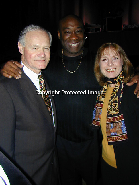 Howard &amp; Carol Safir and Micheal Clark Duncan <br />