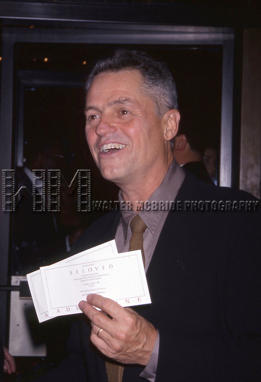 """Jonathan Demme attends the opening of """"Beloved"""" at the Ziegfield Theatre on October 8, 1998 in New York City."""