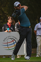 Louis Oosthuizen (RSA) watches his tee shot on 11 during round 2 of the World Golf Championships, Mexico, Club De Golf Chapultepec, Mexico City, Mexico. 3/2/2018.<br /> Picture: Golffile | Ken Murray<br /> <br /> <br /> All photo usage must carry mandatory copyright credit (&copy; Golffile | Ken Murray)