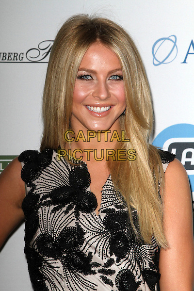 Julianne Hough.LA's Promise Honors Ryan Seacrest At 2011 Gala Held at A the Kodak Theatre, Hollywood, California, USA..27 September 2011.headshot portrait black white sleeveless smiling .CAP/ADM/KB.©Kevan Brooks/AdMedia/Capital Pictures.