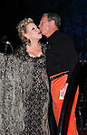 "Bette Midler and Michael Bloomberg  attending Bette Midler's New York Restoration Project's Annual ""Hulaween in the Big Easy"" at  the Waldorf Astoria on October 31, 2013  in New York City."