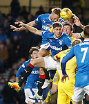 Clint Hill and Rob Kiernan up in attack trying to score
