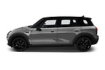 Car driver side profile view of a 2018 Mini Clubman Cooper Kensington 5 Door Wagon