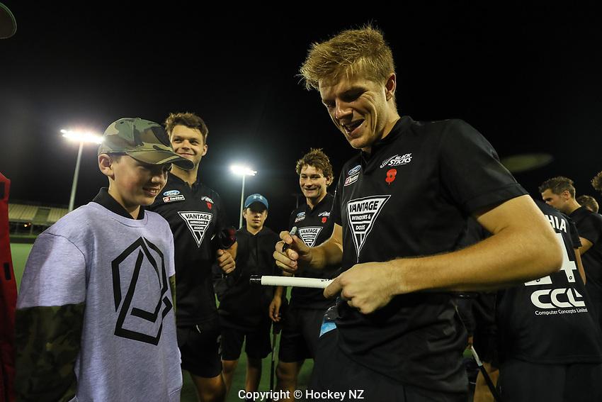 Pro League Hockey, Vantage Blacksticks Men v Australia, ANZAC test. North Harbour Hockey Stadium, Auckland, New Zealand. Thursday 25 April 2019. Photo: Simon Watts/Hockey NZ