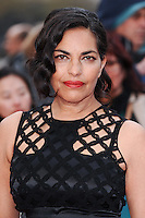 "Sarita Choudhury<br /> arrives for the premiere of ""A Hologram for the King"" at the Bfi, South Bank, London<br /> <br /> <br /> ©Ash Knotek  D3110 25/04/2016"