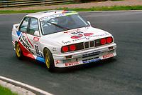 1991 British Touring Car Championship. #66 Nick Whale (GBR). TechSpeed Racing. BMW M3.