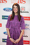 Athlete Ruth Beitia attends the 2015 As Sports Awards ceremony in Madrid, Spain. December 14, 2015. (ALTERPHOTOS/Victor Blanco)