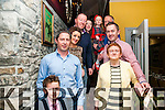 40th Birthday :Thomas Stack, Ballylongford celebrating his 40th birthday with family at Behan's Horseshoe Bar & Restaurant, Listowel on Friday night last.