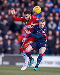 08.03.2020: Ross County v Rangers: Connor Goldson and Billy Mckay