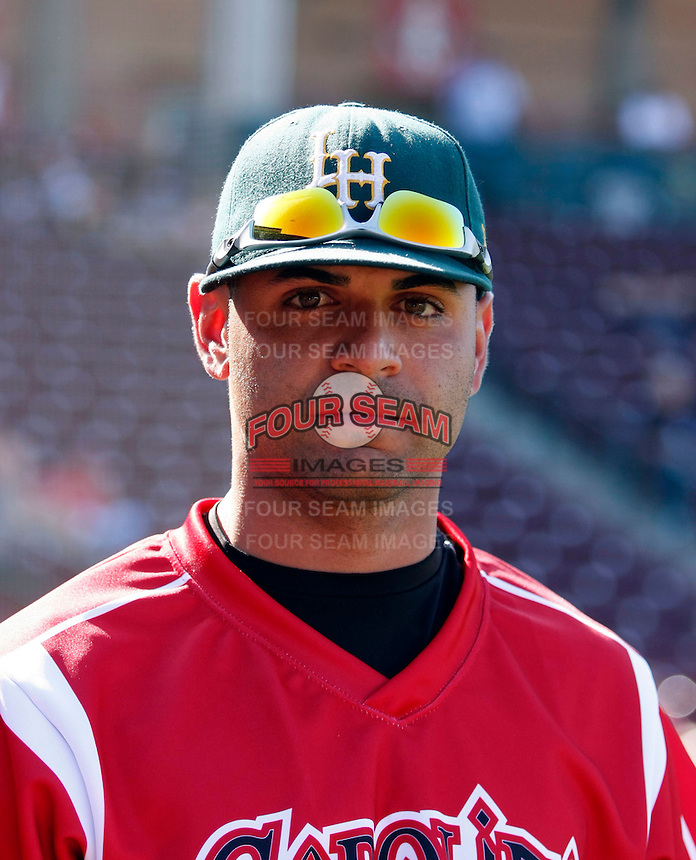 RJ Rodriguez ---  At the annual California League-Carolina League all-star game at the Diamond in Lake Elsinore, CA - 06/23/2009. The game was won by the California League, 2-1, on a walk-off homerun by Lancaster's Jon Gaston..Photo by:  Bill Mitchell/Four Seam Images
