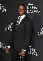 "20 September 2016 - Hollywood, California - Robert Katende. ""Queen Of Katwe"" Los Angeles Premiere held at the El Capitan Theater in Hollywood. Photo Credit: AdMedia"