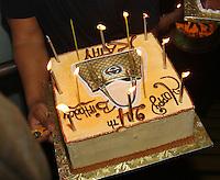 NY Giants Aaron Ross  and his wife  Sanya, teammates and friends celebrating his birthday at Club Amnesia, Manhattan, NY on Monday, September 13, 2010. Photo by Errol Anderson. NY Giants Aaron Ross  and his wife  Sanya, teammates and friends celebrating his birthday at Club Amnesia, Manhattan, NY on Monday, September 13, 2010. Photo by Errol Anderson.