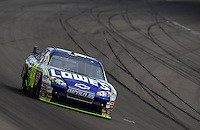 Mar 1, 2008; Las Vegas, NV, USA; NASCAR Sprint Cup Series driver Jimmie Johnson during practice for the UAW Dodge 400 at Las Vegas Motor Speedway. Mandatory Credit: Mark J. Rebilas-US PRESSWIRE