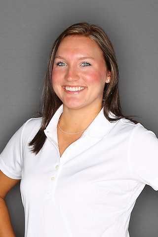 Denton, TX - AUGUST 31: University of North Texas Women's Golf Team head shot of Taylor Kilponen at Bridlewood Country Club on August 31, 2012 in Flower Mound, Texas. (Photo by Rick Yeatts)