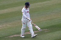 Simon Harmer of Essex leaves the field having been dismissed for 6 during Essex CCC vs Nottinghamshire CCC, Specsavers County Championship Division 1 Cricket at The Cloudfm County Ground on 23rd June 2018