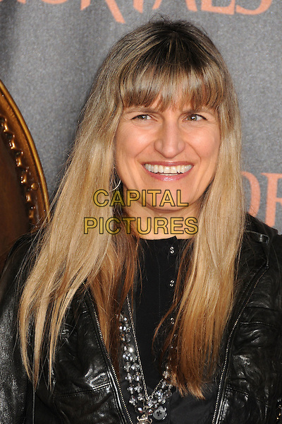 "Catherine Hardwicke.""Immortals"" World Premiere held at Nokia Theatre LA Live, Los Angeles, California, USA..November 7th, 2011.headshot portrait black leather smiling .CAP/ADM/BP.©Byron Purvis/AdMedia/Capital Pictures."