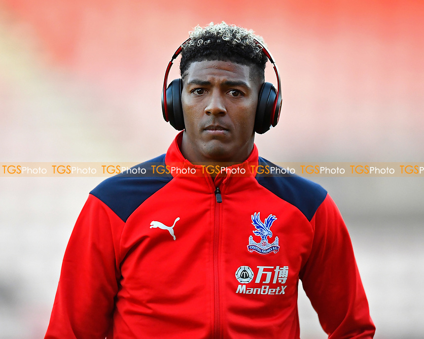 Patrick van Aanholt of Crystal Palace during AFC Bournemouth vs Crystal Palace, Premier League Football at the Vitality Stadium on 1st October 2018
