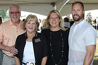 NWA Democrat-Gazette/CARIN SCHOPPMEYER Patric and Terrye Brosh (from left) and Leslee and Kevin McVey enjoy Polo in the Ozarks.
