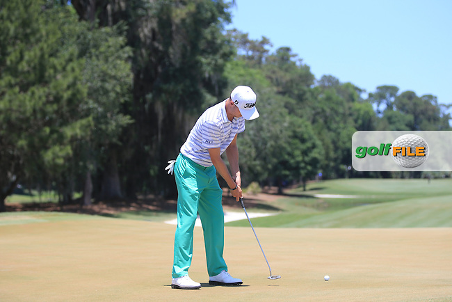 Justin Thomas (USA)  during the Third Round of The Players, TPC Sawgrass, Ponte Vedra Beach, Jacksonville.   Florida, USA. 14/05/2016.<br /> Picture: Golffile | Mark Davison<br /> <br /> <br /> All photo usage must carry mandatory copyright credit (&copy; Golffile | Mark Davison)