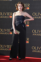 Charlotte Ritchie at The Olivier Awards 2017 at the Royal Albert Hall, London, UK. <br /> 09 April  2017<br /> Picture: Steve Vas/Featureflash/SilverHub 0208 004 5359 sales@silverhubmedia.com
