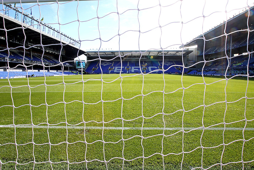 A general view of Goodison Park, home of Everton Football Club<br /> <br /> Photographer Rich Linley/CameraSport<br /> <br /> The Premier League - Everton v Middlesbrough - Saturday 17th September 2016 - Goodison Park - Liverpool<br /> <br /> World Copyright &copy; 2016 CameraSport. All rights reserved. 43 Linden Ave. Countesthorpe. Leicester. England. LE8 5PG - Tel: +44 (0) 116 277 4147 - admin@camerasport.com - www.camerasport.com