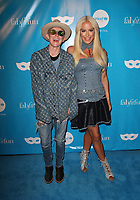 LOS ANGELES, CA - OCTOBER 27: Nats Getty, Gigi Gorgeous, at UNICEF Next Generation Masquerade Ball Los Angeles 2017 At Clifton's Republic in Los Angeles, California on October 27, 2017. Credit: Faye Sadou/MediaPunch /NortePhoto.com