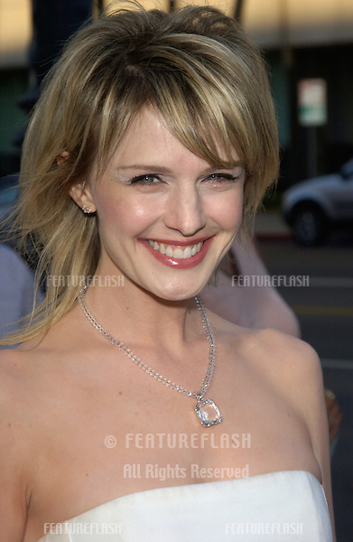 Actress KATHRYN MORRIS at the Los Angeles premiere of The Terminal..June 9, 2004