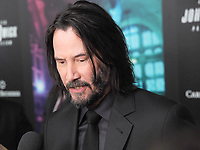 "NEW YORK, NY - MAY 09: Keanu Reeves attends the ""John Wick: Chapter 3"" world premiere at One Hanson Place on May 9, 2019 in New York City.     <br /> CAP/MPI/JP<br /> ©JP/MPI/Capital Pictures"