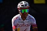 Jhon Darwin Atapuma (COL) Cofidis at sign on before Stage 5 of the Criterium du Dauphine 2019, running 201km from Boen-sur-Lignon to Voiron, France. 13th June 2019.<br /> Picture: ASO/Alex Broadway | Cyclefile<br /> All photos usage must carry mandatory copyright credit (© Cyclefile | ASO/Alex Broadway)