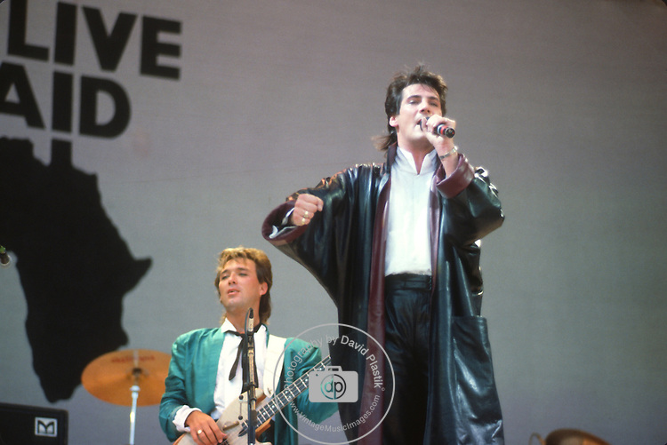 Spandau Ballet,Live Aid 1985, Martin Kemp, Tony Hadley,