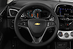 Car pictures of steering wheel view of a 2020 Chevrolet Spark 1LT 5 Door Hatchback