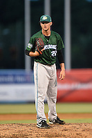 Daytona Tortugas pitcher Joel Bender (20) looks in for the sign during a game against the Tampa Yankees on April 24, 2015 at George M. Steinbrenner Field in Tampa, Florida.  Tampa defeated Daytona 12-7.  (Mike Janes/Four Seam Images)