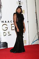 LOS ANGELES - JAN 15:  Naturi Naughton at the 49th NAACP Image Awards - Press Room at Pasadena Civic Center on January 15, 2018 in Pasadena, CA