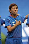 06 August 2008: Miyuki Yanagita (JPN).  The women's Olympic team of New Zealand tied the women's Olympic soccer team of Japan 2-2 at Qinhuangdao Olympic Center Stadium in Qinhuangdao, China in a Group G round-robin match in the Women's Olympic Football competition.