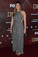 "LOS ANGELES, CA, USA - MARCH 04: Jenna Ushkowitz at the Premiere Of FOX's ""Cosmos: A SpaceTime Odyssey"" held at The Greek Theatre on March 4, 2014 in Los Angeles, California, United States. (Photo by Xavier Collin/Celebrity Monitor)"