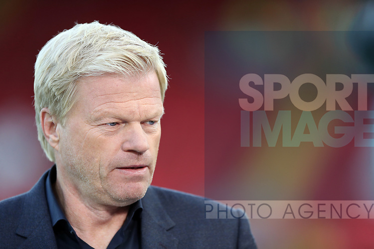 Oliver Kahn during the Champions League playoff round at the Anfield Stadium, Liverpool. Picture date 23rd August 2017. Picture credit should read: Lynne Cameron/Sportimage